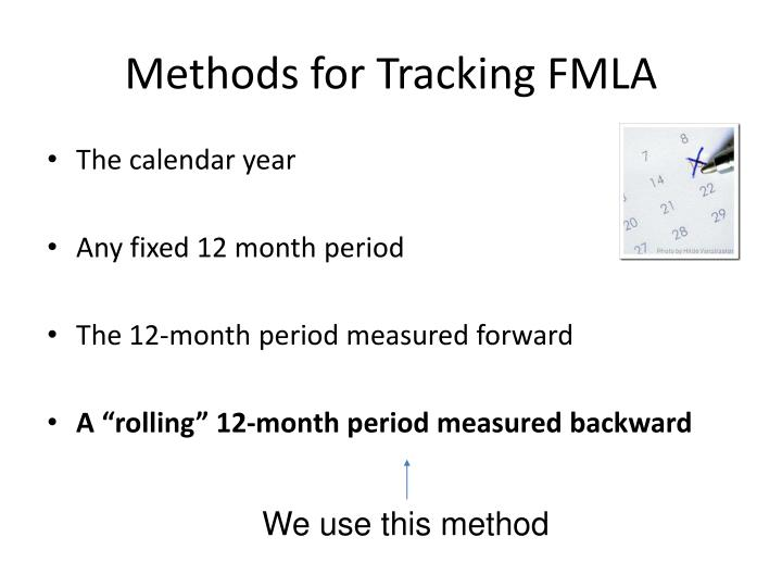 Methods for Tracking FMLA
