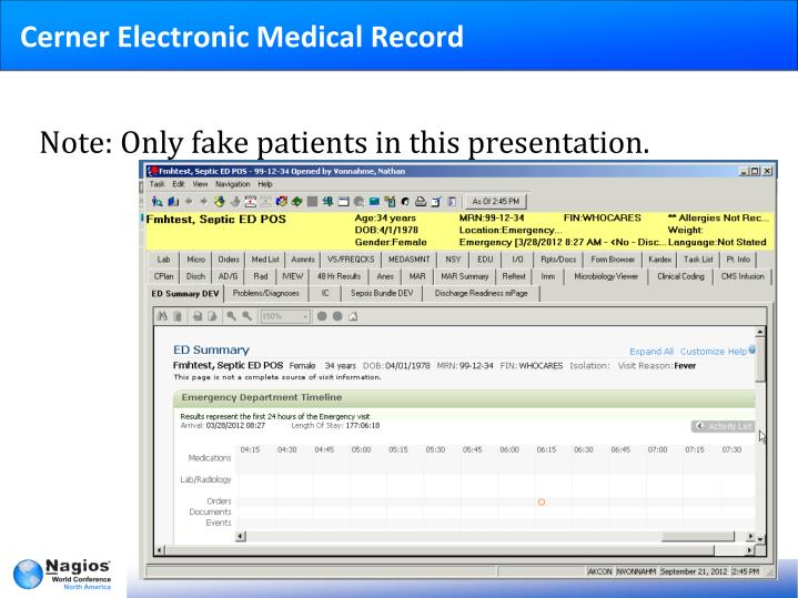 Cerner Electronic Medical Record