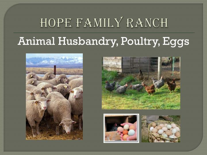 Hope Family Ranch
