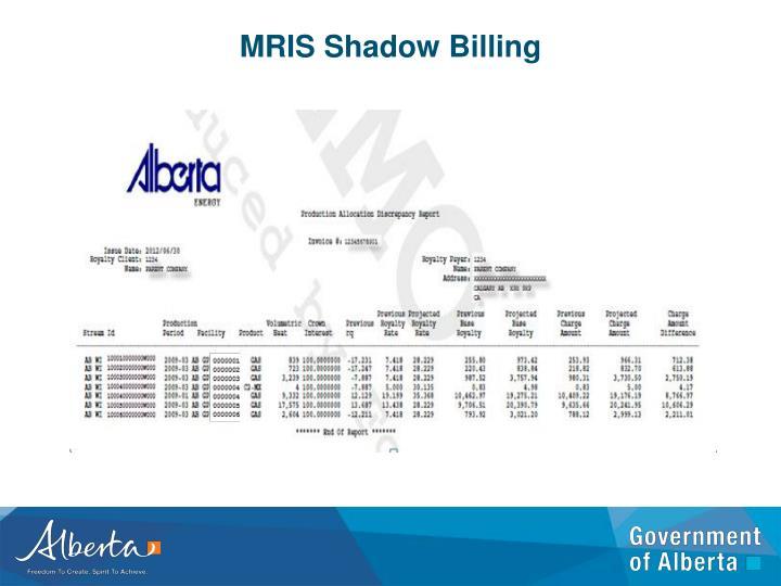 MRIS Shadow Billing