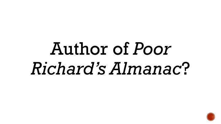 Author of