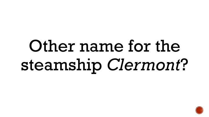 Other name for the steamship
