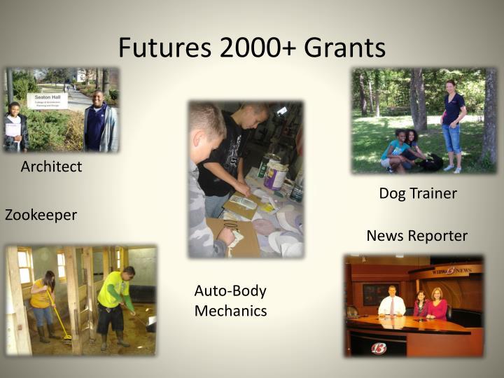 Futures 2000+ Grants