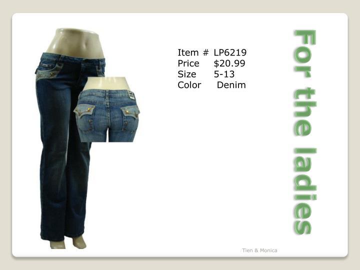 Item #LP6219
