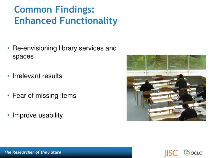 Common Findings: