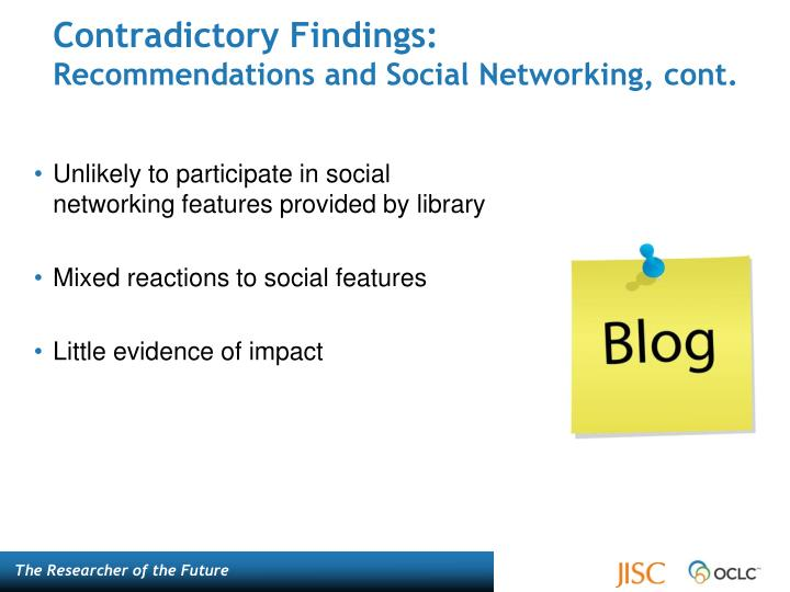 Contradictory Findings: