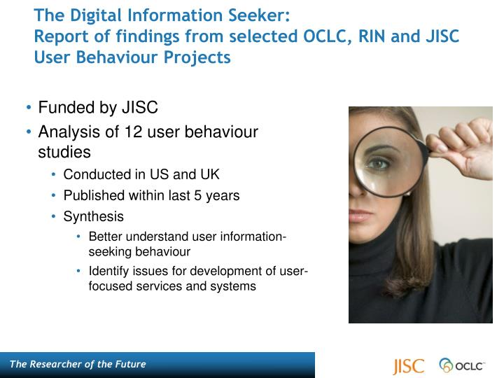 The Digital Information Seeker: