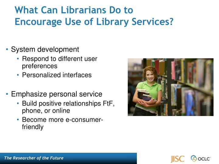 What Can Librarians Do to
