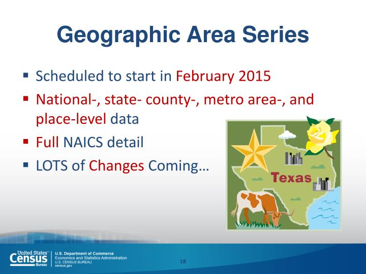 Geographic Area Series