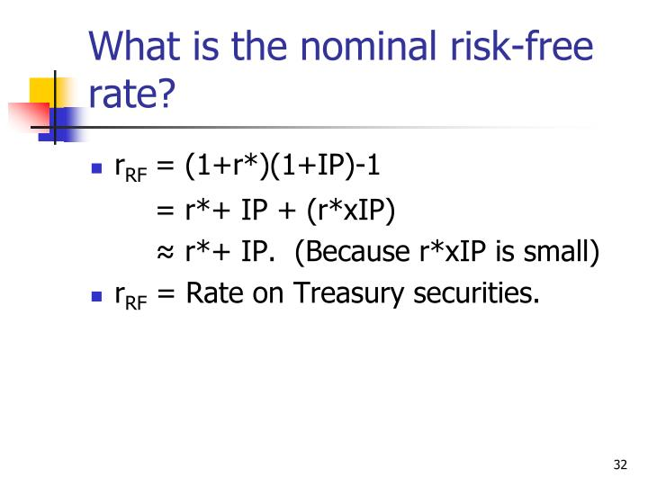 """""""Risk free"""" rates and discount rates for DCF models"""