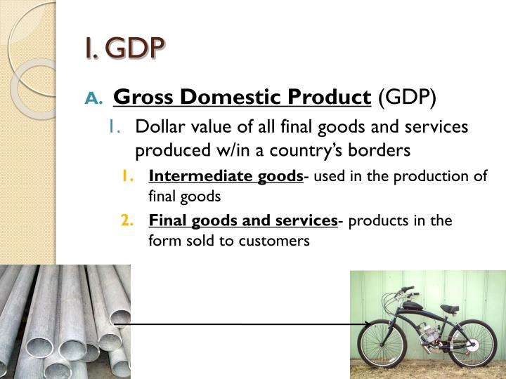 I. GDP