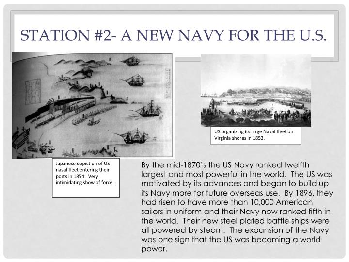 Station #2- A new navy for the U.S.