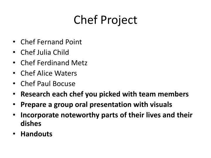 Chef Project