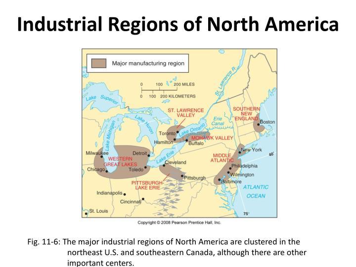 Industrial Regions of North America