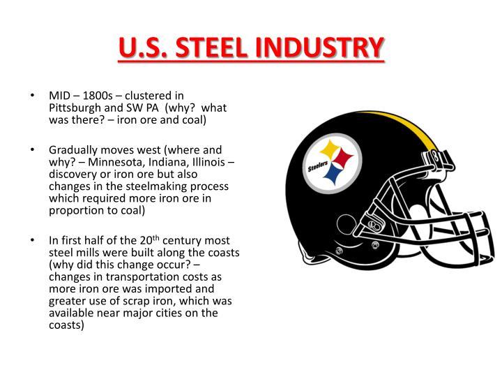 U.S. STEEL INDUSTRY
