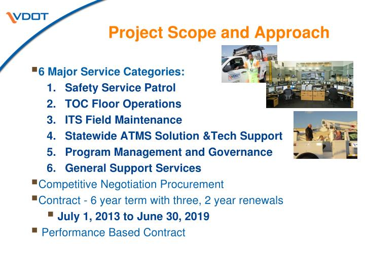 Project Scope and Approach