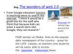 blog the wonders of web 2 02