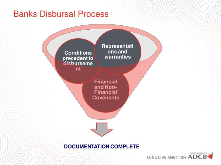 Banks Disbursal Process