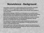 nonviolence background