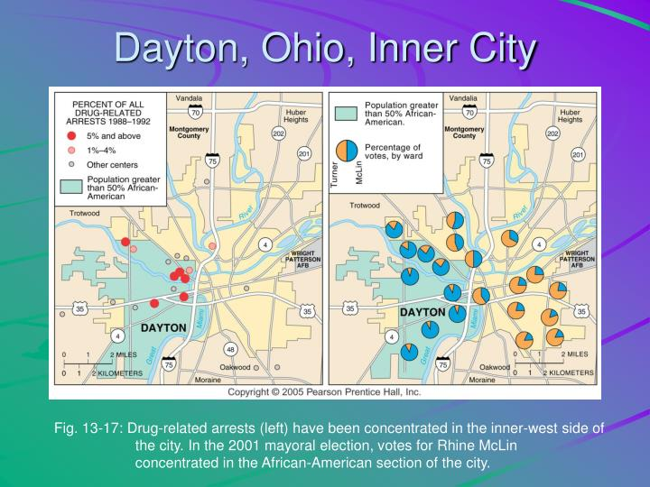 Dayton, Ohio, Inner City
