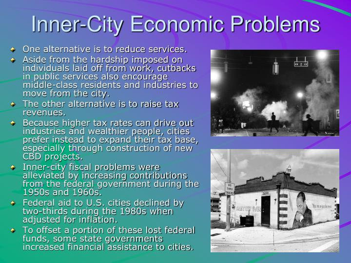 Inner-City Economic Problems