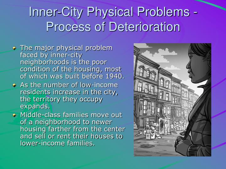 Inner-City Physical Problems - Process of Deterioration