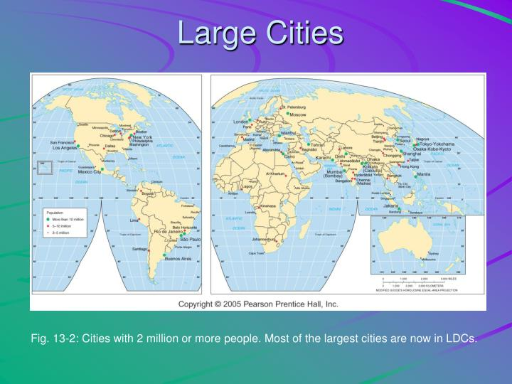 Large Cities
