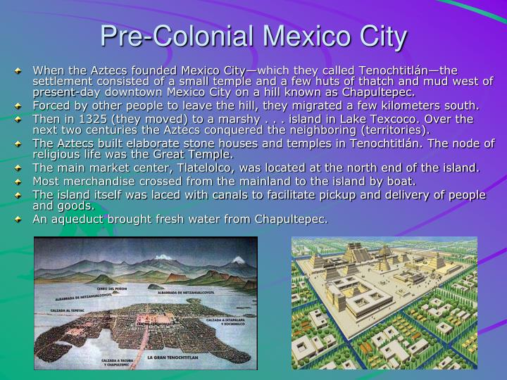 Pre-Colonial Mexico City