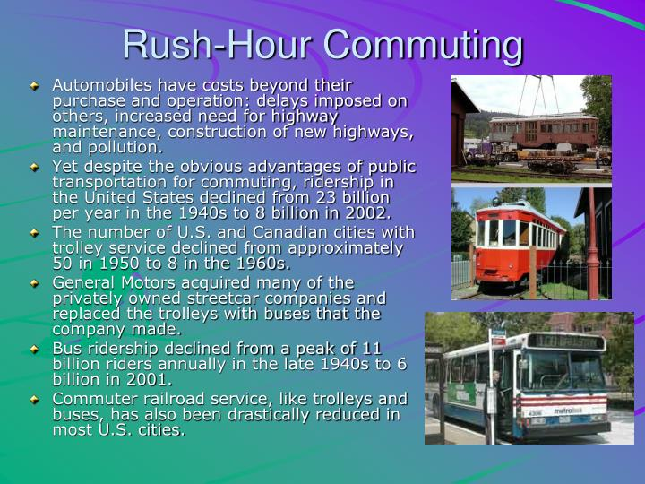 Rush-Hour Commuting