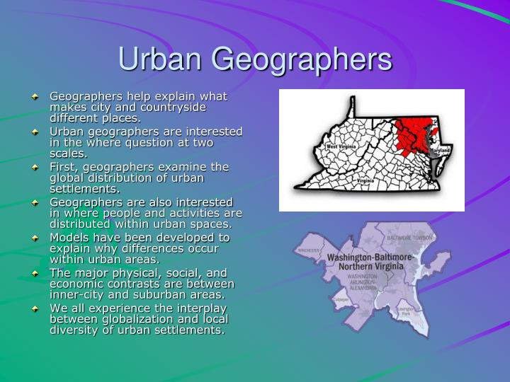 Urban Geographers