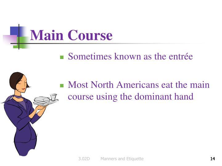 Main Course