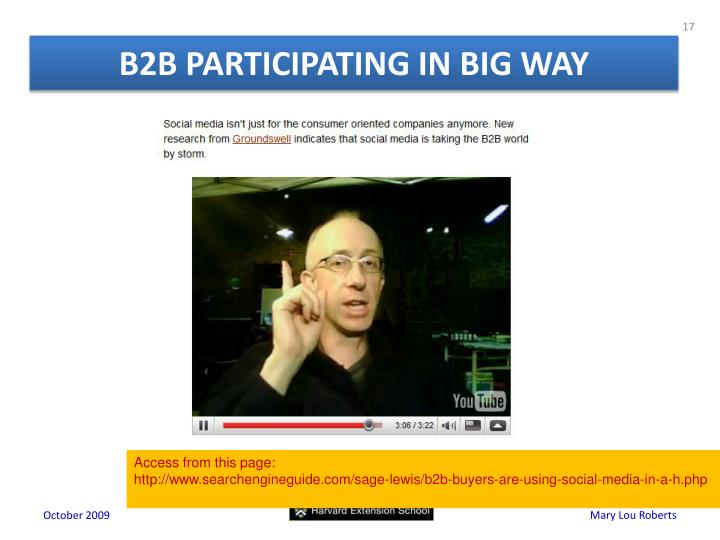 B2B PARTICIPATING IN BIG WAY