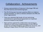collaboration achievements