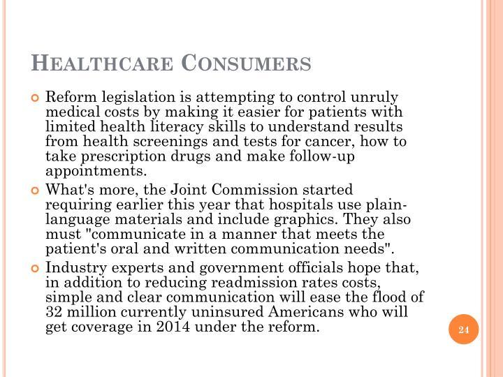 Healthcare Consumers