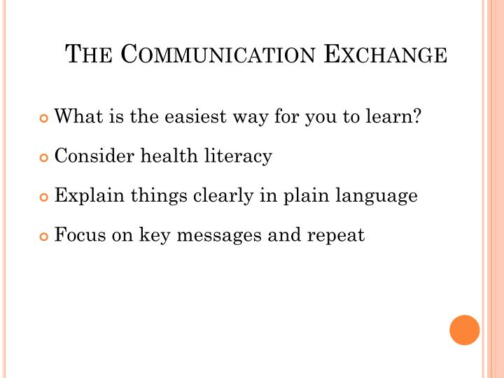 The Communication Exchange
