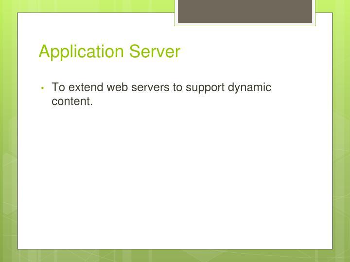 Application Server