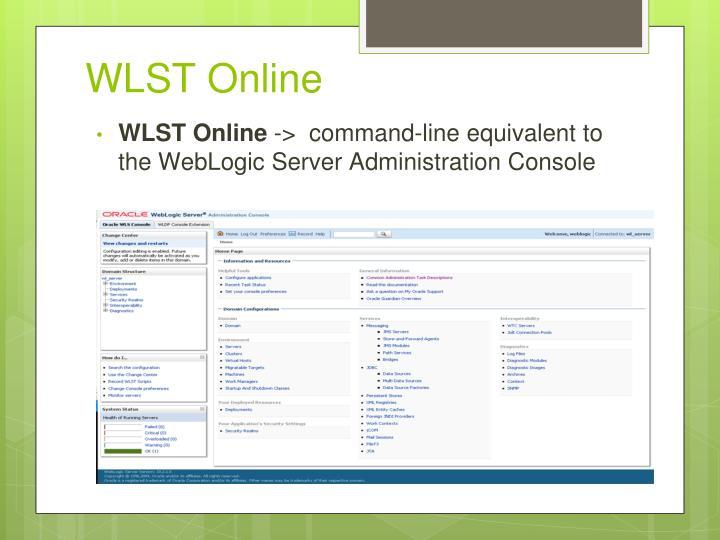 WLST Online