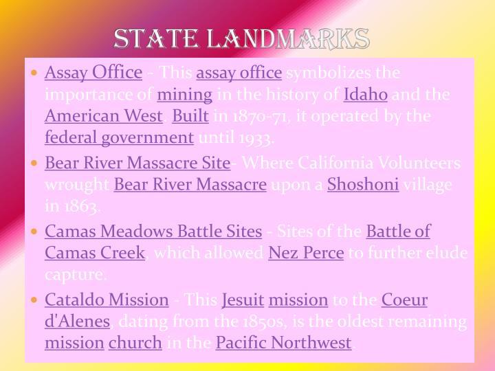 State Landmarks
