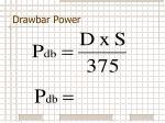drawbar power2