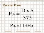 drawbar power3
