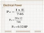 electrical power5