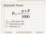 hydraulic power2