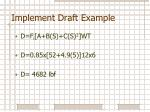 implement draft example5