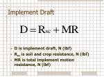 implement draft