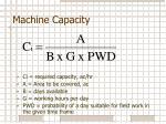 machine capacity1