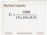 machine capacity2