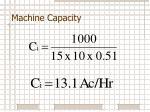 machine capacity3