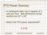 pto power exercise2