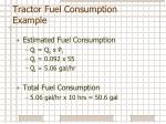 tractor fuel consumption example1