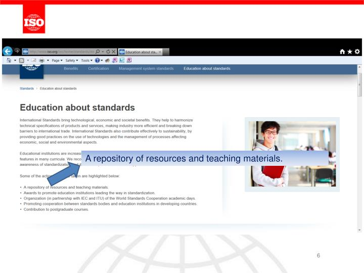 A repository of resources and teaching materials.